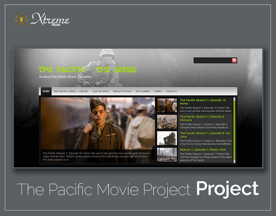 The Pacific Movie Project
