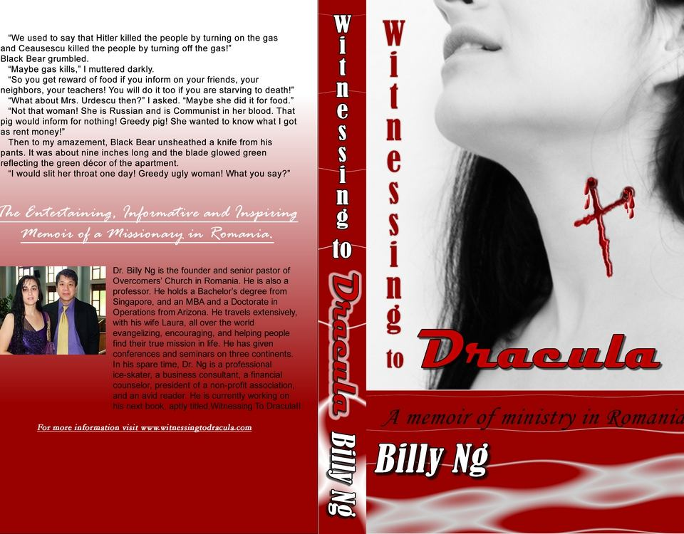 Witnessing to Dracula Book Cover Project