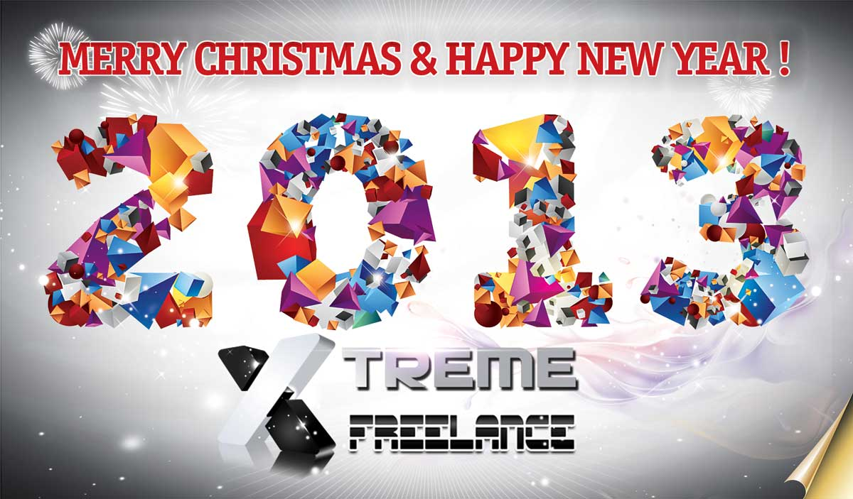 Merry Christmas and Happy New Year from Xtreme Freelance !