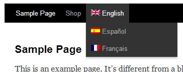 language-switcher-in-menu