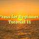 WordPress for Beginners 2015 Tutorial 11