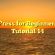 WordPress for Beginners 2015 Tutorial 14