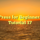 WordPress for Beginners 2015 Tutorial 17