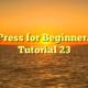 WordPress for Beginners 2015 Tutorial 23