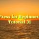 WordPress for Beginners 2015 Tutorial 31
