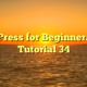 WordPress for Beginners 2015 Tutorial 34