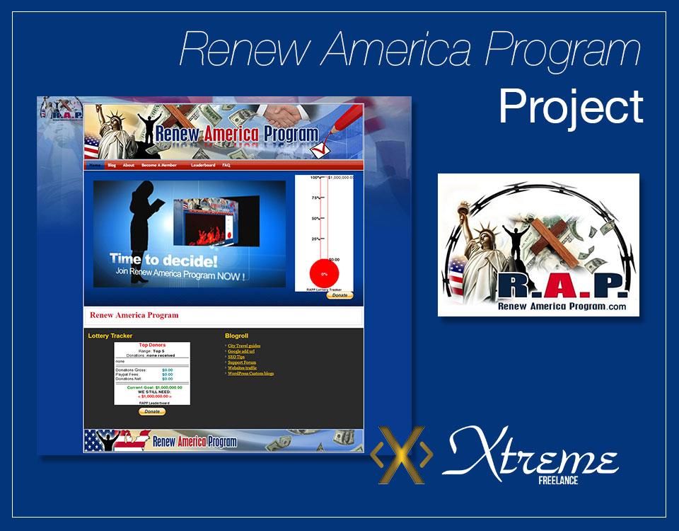 Renew America Program Project