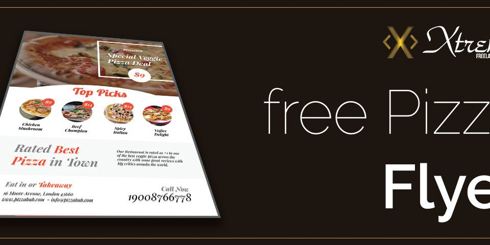 Pizza Flyer PSD