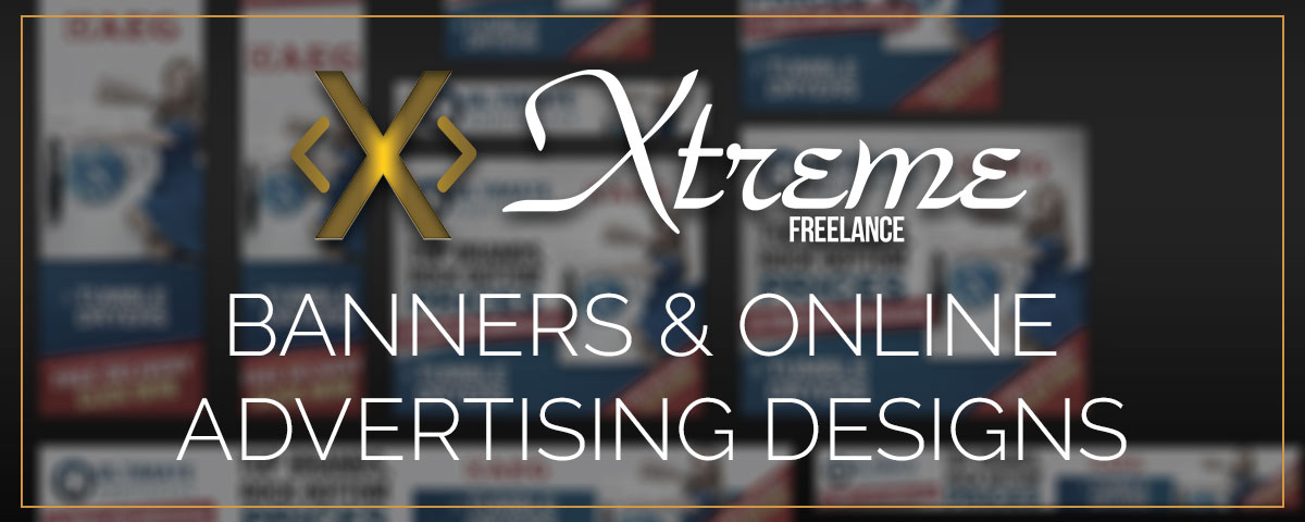 Banners and other online advertising designs