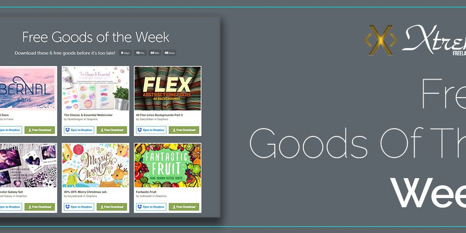 Free Goods Of The Week 8