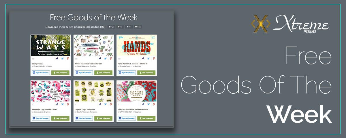 Free Goods Of The Week – Jan.23