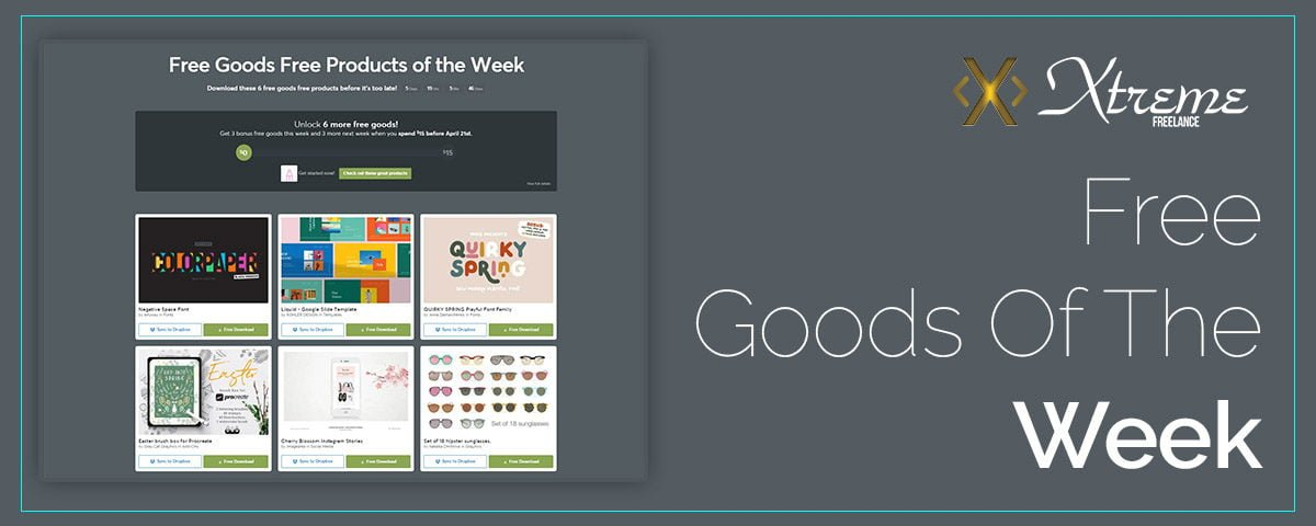 Free Goods Of The Week cover image