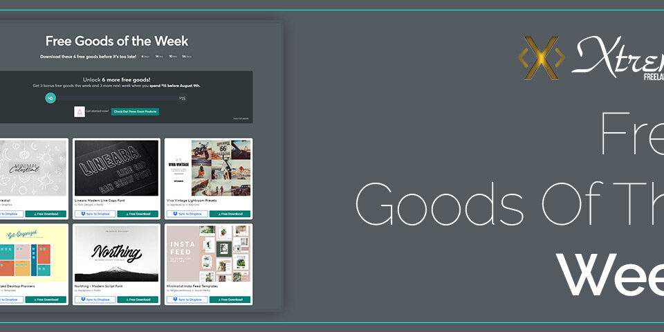 Free Goods Of The Week featured