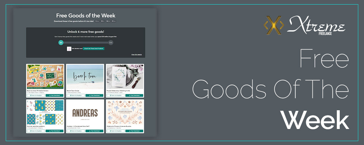 Free Goods Of The Week featured image